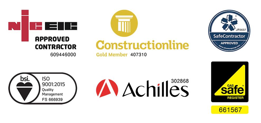 MJM Industrial Ltd Accreditations