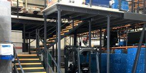 Mezzanine Floor Warehouse
