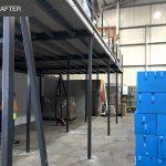 Storage under mezzanine floor v2