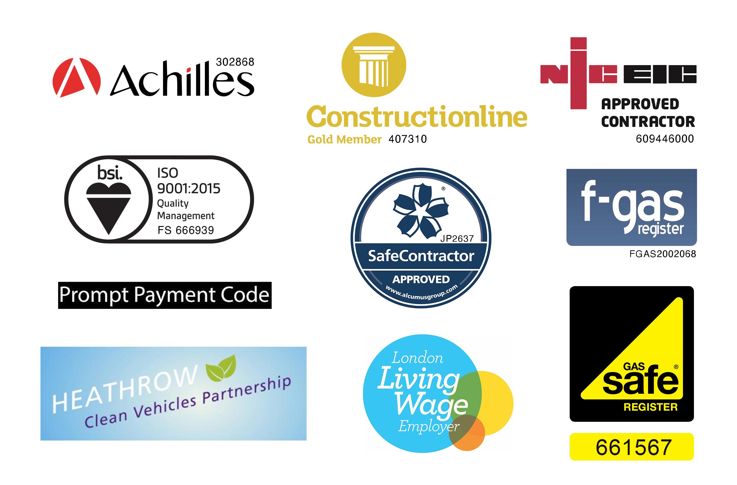 MJM Industrial Accreditations Logos July 2021